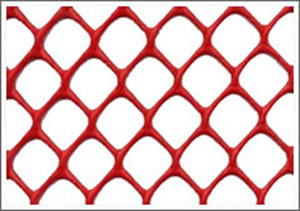 Dimond Plastic Mesh for Safety Fencing Barriers