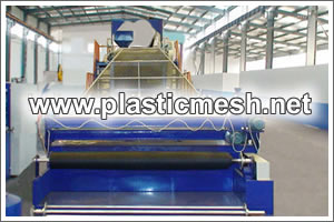 Screw Extruder Machine For Pp Pvc And Pe Mesh Extrusion Line