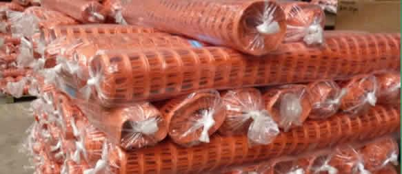 Hdpe Orange Mesh Warning Safety Plastic Fence Manufacturer